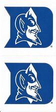 DUKE Blue Devils NCAA Football Scrapbook Stickers