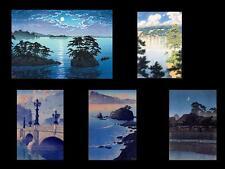 HASUI KAWASE woodblock print Great Collection book /All370points/japan/kawase