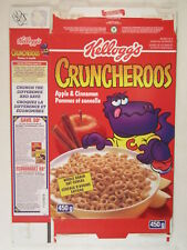 MT KELLOGS Cereal Box 1996 CRUNCHEROOS 450g Made in Canada [G7E14ma]