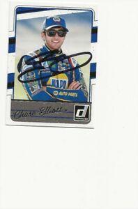 CHASE   ELLIOTT   NASCAR        AUTOGRAPHED    CARD