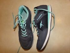 KangaROOS Gray Teal Athletic Shoes Womens Size 9 1/2