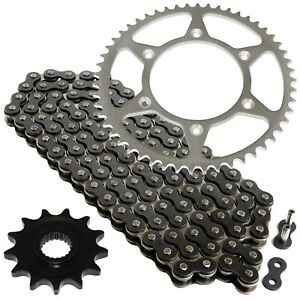Black Drive Chain And Sprocket Kit for Honda CRF250X 2004-2017