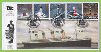 G.B. 1998 Lighthouses set 'Titanic' Havering First Day Cover, Noak Hill Romford
