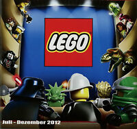 Prospekt Katalog Lego 7-12 2012 Spielzeugkatalog Spielzeug Broschüre brochure