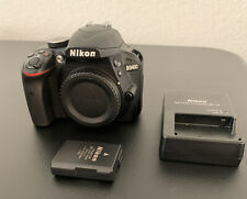 Nikon D3400 Digital SLR Camera 24.2 MP DX  - Body, Battery and Charger ONLY