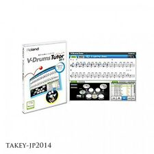 Roland DT-1 V-Drums Tutor Software MAC/Windows Japan Free Shipping With Tracking