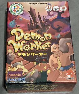 Japanime Card Tabletop Game Demon Worker - Multilingual Rulebooks - Sealed New