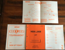 MIDWAY NBA JAM ARCADE VIDEO MANUAL KIT