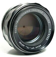 Asahi Pentax Super Takumar 50mm f1.4 Lens M42 with Caps UK Fast Post