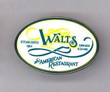 Paris Disneyland Walt Disney Walt's an American Restaurant Sign Est 1901 Pin