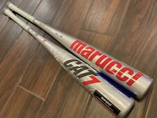 2021 Marucci CAT 7 Silver BBCOR Baseball Bat ~ 33/30 ~ New w/ Warranty OBO