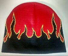Flamme Beanie tricoté homme ou femme unisexe chapeau