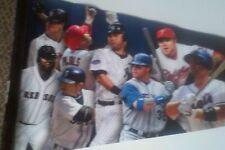 Mlb Baseball Players Association Pennant 2009 Jeter Wright Ortiz Pujols Hamilton
