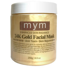 24K Gold Facial Mask 8.8 Oz - Ancient Gold Mask Formula Anti-Aging Anit Wrinkle