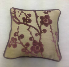 "Harlequin Juniper Blossom 8151 Amethyst & Neutral Cushion Cover 16"" x 16"""