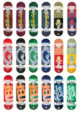 "Two Bare Feet Double Kick Complete Skateboard Cruiser 31"" x 8"" Concave"