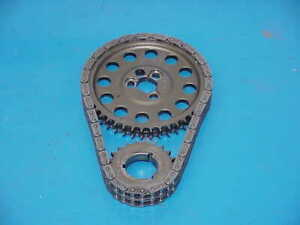 1 HEX-A-JUST Double Roller Timing Chain Set for SB Chevy Race or Street Car A1