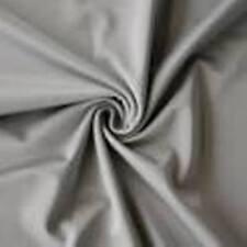 "SILVER ** Nylon Tricot Fabric ** 40 DENIER ** Sewing * Aerial Silks * 110"" Wide"