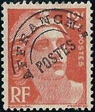 """FRANCE STAMP TIMBRE PREOBLITERE 103A """" MARIANNE 12F ROUGE ORANGE """" NEUF xx TTB"""