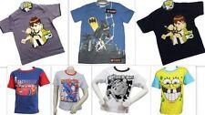 Markenlose Jungen-T-Shirts, - Polos & -Hemden aus 100% Baumwolle mit Kurzarm