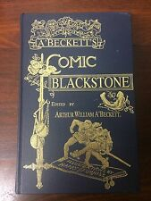 COMIC BLACKSTONE ARTHUR WILLIAM A BECKETT Hardcover HC Harry Furniss Southampton