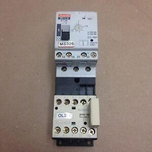Lovato SM1B20 / BG0901D Circuit Breaker and Control Relay