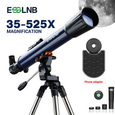ESSLNB Telescope for Adults 700X70mm with K4/10/20 Eyepieces 525X Telescopes