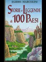 Storie And Legends Of 100 Paesi Prima Edition Egidio Marcolini Piemme 1993