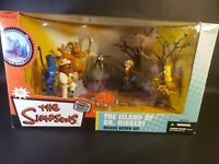 RARE 2006 Mcfarlane The Simpson's The island of Dr Hibbert Deluxe Boxed Set rare
