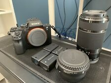 Sony A7s II (with lens and EF Adapters)