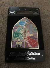 Disney Store Sleeping Beauty Stained Glass Window LE 800 Limited Edition UK EU