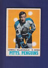 Lowell MacDonald 1970-71 O-PEE-CHEE Hockey #206 (VG)