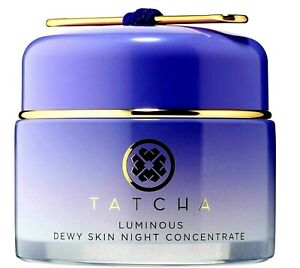 TATCHA LUMINOUS DEWY SKIN NIGHT CONCENTRATE  1.7 OZ. AUTHENTIC- AMAZING! NO BOX!