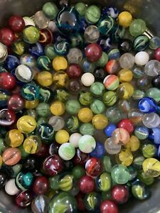 Vacor MEGA MARBLE Pee Wee Lot Boxed Set 15 Collector Quality Marbles 1532