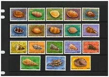 Samoa 1978 Shells Set of 18 Definitive Stamps All Mint Unhinged (4-11)