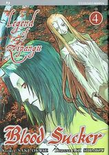 Blood Sucker: Legend of Zipangu n. 4 di Saki Okuse ed.Jpop * NUOVO! * Sconto 50%