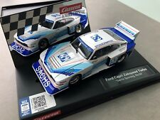 Carrera Evolution Ford Capri Zakspeed Turbo SACHS Sporting No. 130cm