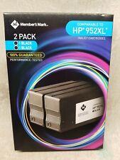 2PK 952XL Ink Cartridges For HP OfficeJet Pro 7720 7740 8210 8216 8710 8715 8720