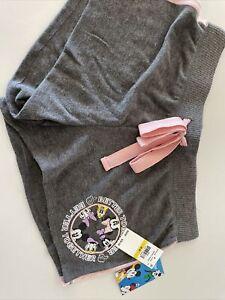 Mickey And Friends Lounge Shorts Disney Grey, Medium Pajamas Super Cute NWT!