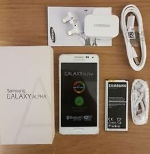 Samsung Galaxy Alpha SM-G850 3G 4G Sim Free Unlocked Smart Mobile Phone White