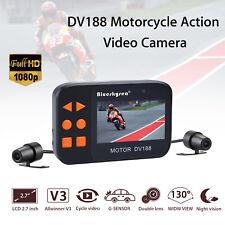 Blueskysea DV188 Action Sports Camera Video DVR Motorcycle Dash Camera 1080P HD