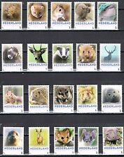 complete set of 36(!) personalized stamps - Mammals of the Netherlands
