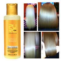 Purc 12% Banana Flavor Keratin Treatment Straightening Hair Repair Damage 100ml~