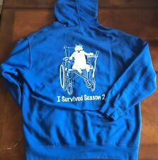 Rare  Nick Swarsden's Pretend Time Season 2 Cast And Crew Hoodie Sweatshirt XL