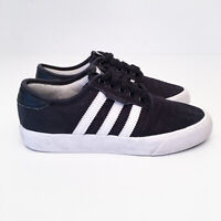Adidas Seeley Black White Canvas Kids Shoes Boys Girls Size US 4/UK3.5 BY3838