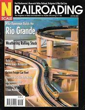 N Scale Railroading #9 2002 D&RGW Rio Grande Auto Rack Cars Kato SD90MAC Freight