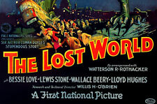 THE LOST WORLD (1925, Silent) Sci-Fi Dinosaurs