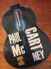 PAUL McCARTNEY ONE ONE ONE 2017 TOUR BASS WALL CLOCK NEW SS MINT BEATLES