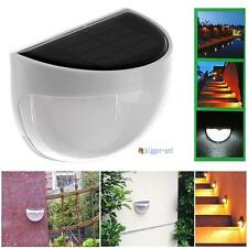 Solar Power WallMount LED Light Outdoor Garden Path Landscape Fence Yard Lamp RG