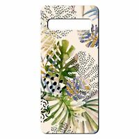 For Samsung Galaxy S10 PLUS Silicone Case Nature Leafs Art Print - S6922